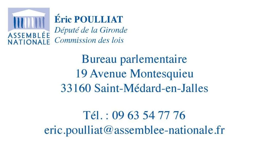 adresse bureau parlementaire